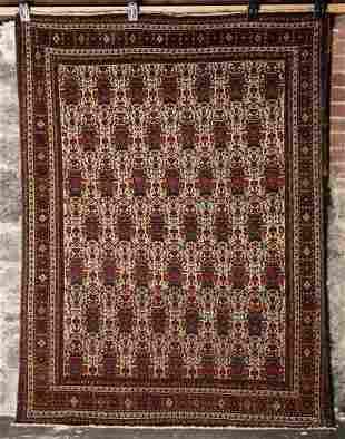 Persian ABADEH Zele Sultan Rug c.1930's