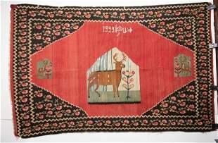 1929 Armenian Kilim Signed