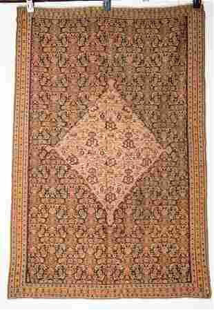 Fine Antique Persian Senneh Kilim Rug