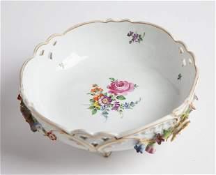 Von Schierholz German Porcelain Footed Bowl