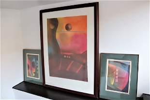 Female Form by Winston SAOLI Abstract Composition 1983