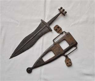 Roman Dagger - PUGIO 15 inch w/ beautiful scabbard!