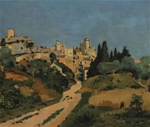 André Derain (1880-1954), Paysage du midi, vue