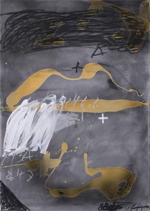 """Antoni Tàpies (1923-2012), """"Bouche"""", 1987,"""