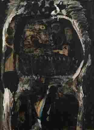 """Antoni Clave (1913-2005), """"Roi à la pipe"""", 1959,"""