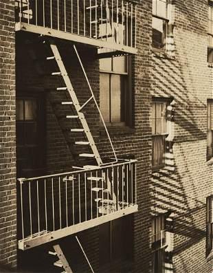 D. J. Ruzicka, Fire Escapes, c. 1940