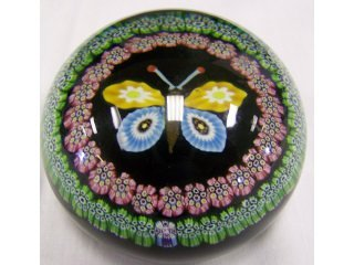3783: Millefiori paperweight by Perthshire, with