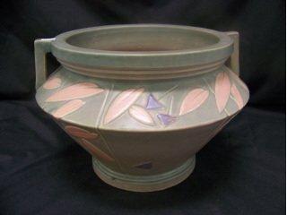 """5023: Unmarked Roseville Art Pottery """"Futura"""""""