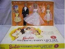 5185: 1964 Barbie Wedding Party Gift Set, stock #1017,