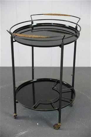 Italian Round Bar or Tea Cart