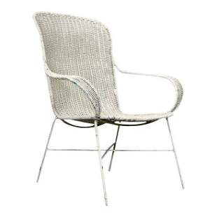 60s Vintage All Wire Arm Chair