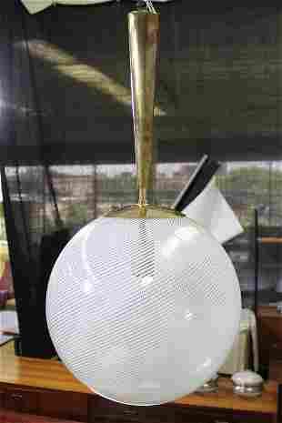 Venini Reticello Vintage Globe