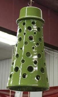 Green Ceramic Pendant