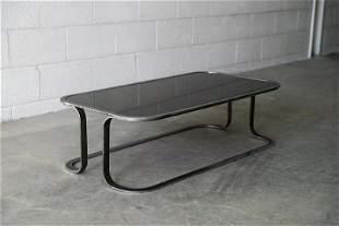 Steel frame Coffee Table