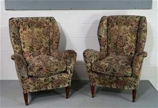 Italian Vintage Arm Chairs