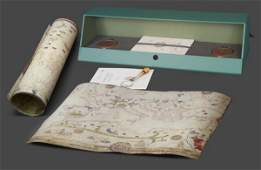 PORTULANS ancient nautical maps in the Este library