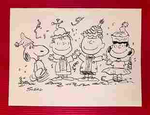 Charles Schulz Ink (In the Style of)