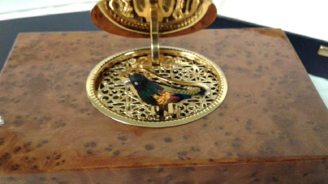 Reuge Sainte-Croix bird music box with original box & - 2