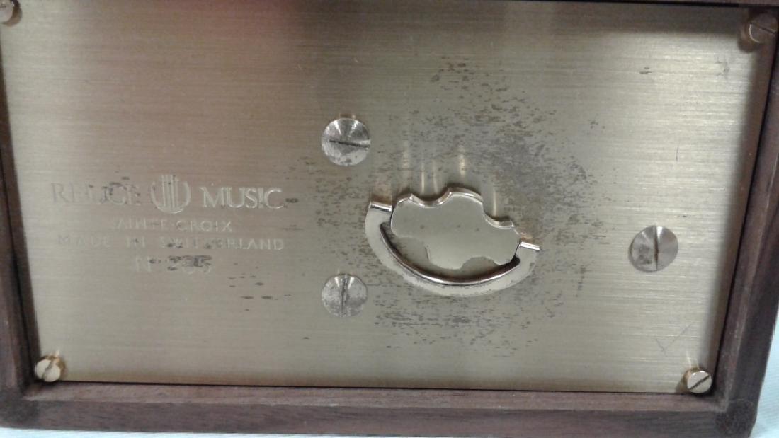 Reuge Sainte-Croix bird music box with original box & - 4