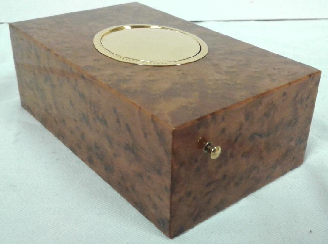Reuge Sainte-Croix bird music box with original box & - 8
