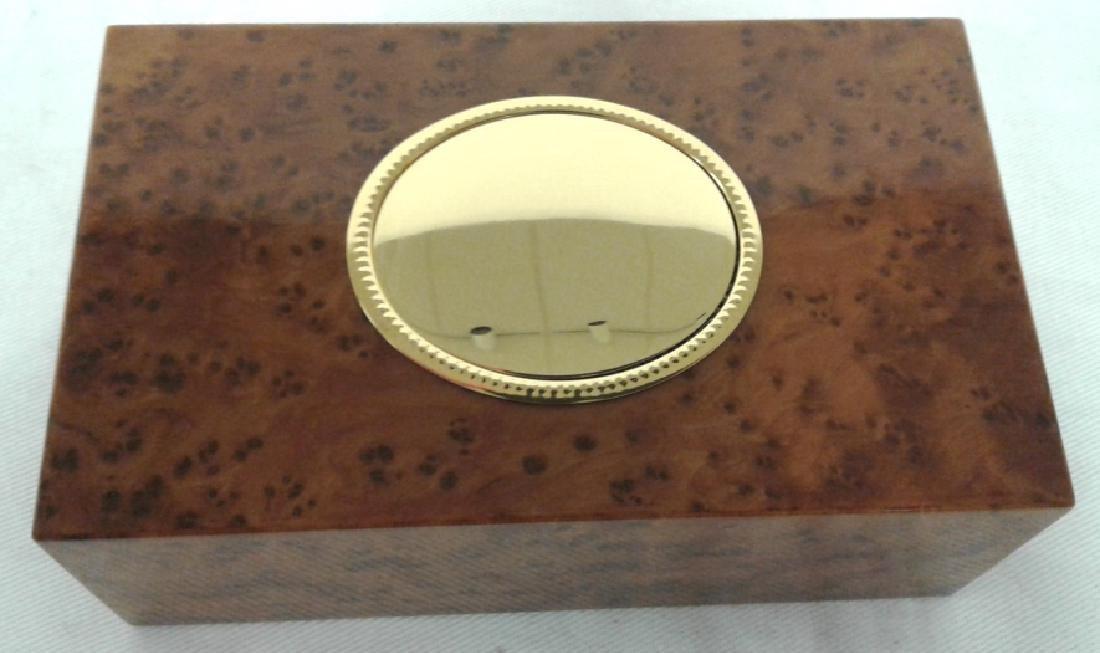 Reuge Sainte-Croix bird music box with original box & - 9