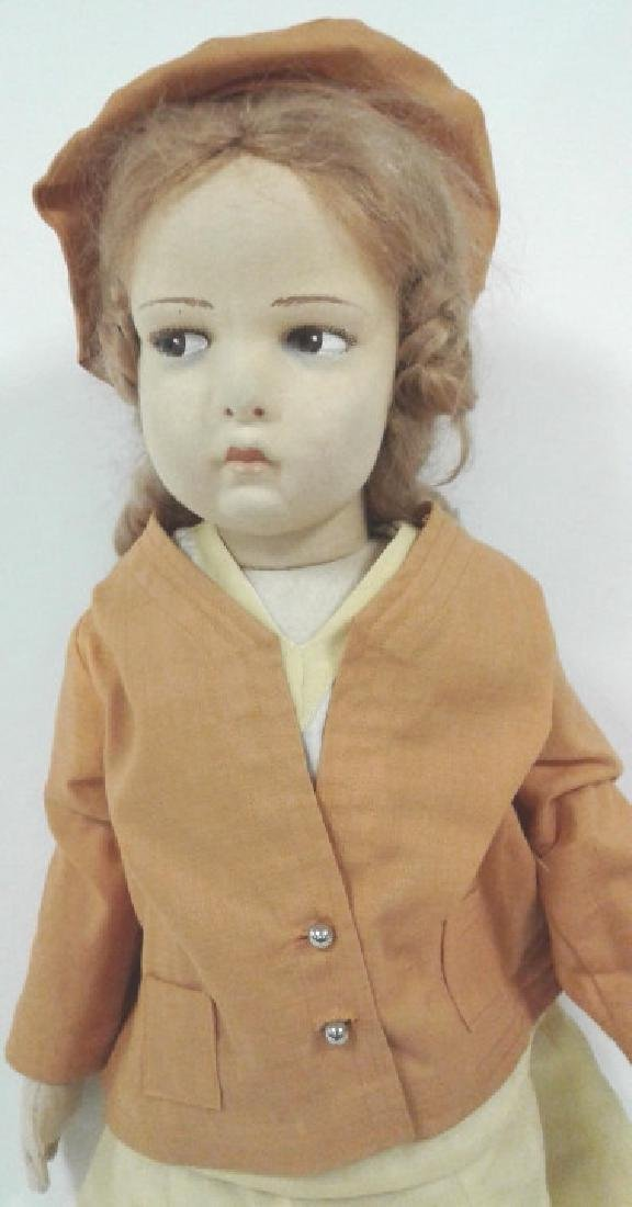 "22"" vintage Lenci doll with original outfit - no - 2"