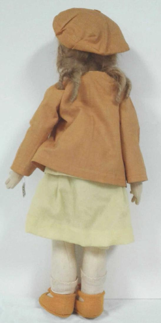 "22"" vintage Lenci doll with original outfit - no - 5"