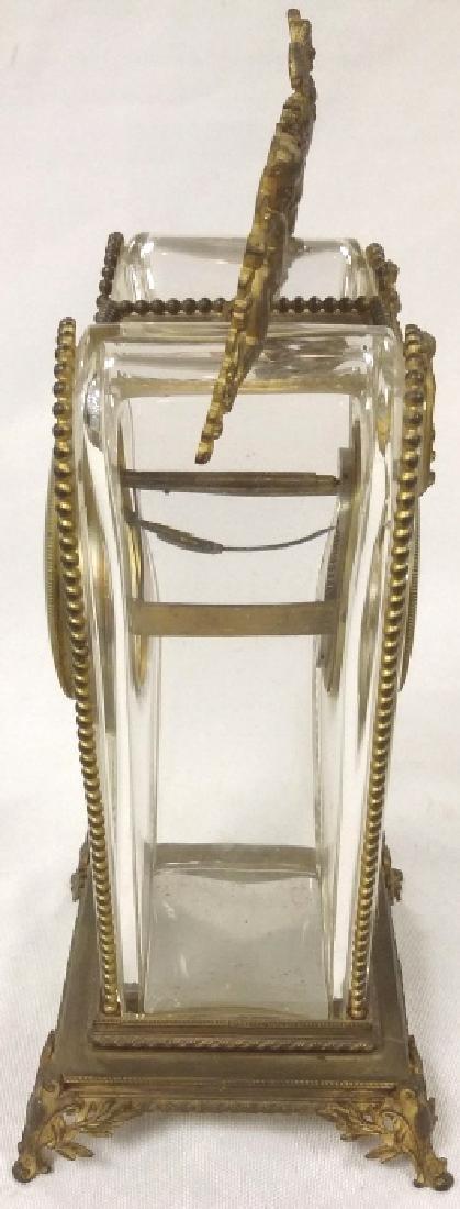 """8 1/2"""" Bailey, Banks & Biddle ormolu mounted crystal - 4"""