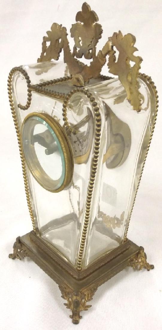 """8 1/2"""" Bailey, Banks & Biddle ormolu mounted crystal - 5"""