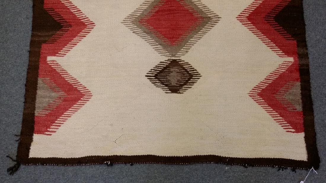 "Navajo rug approx. 43"" x 57 1/2"" - 2"