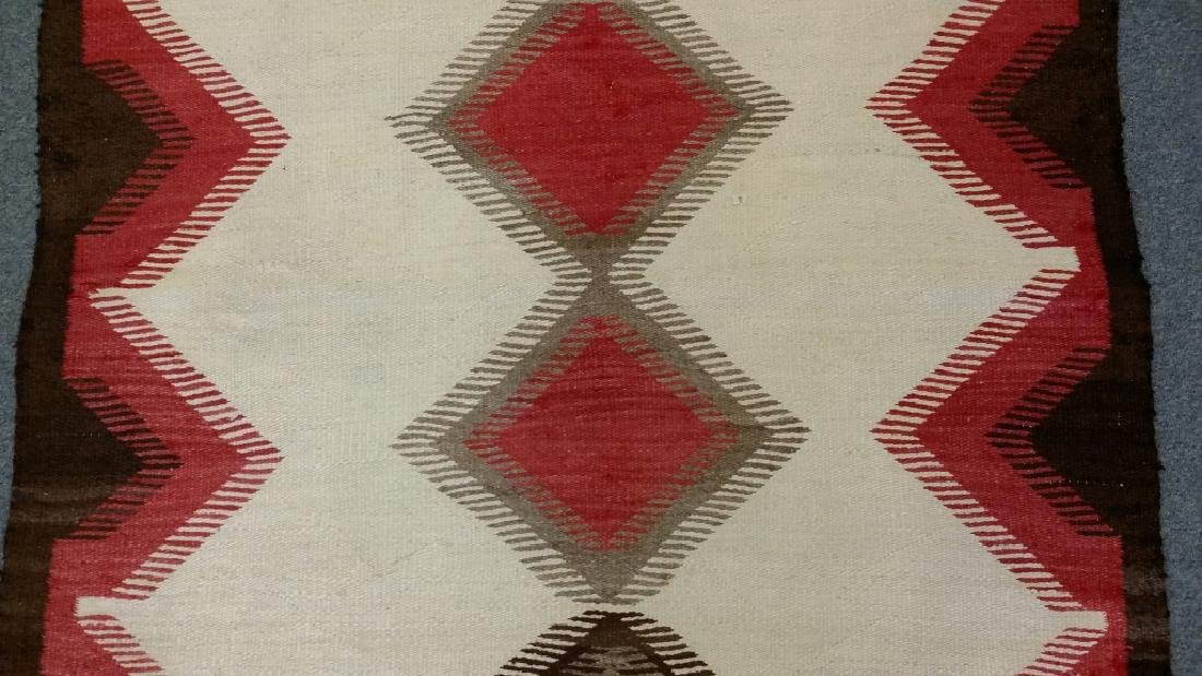 "Navajo rug approx. 43"" x 57 1/2"" - 3"