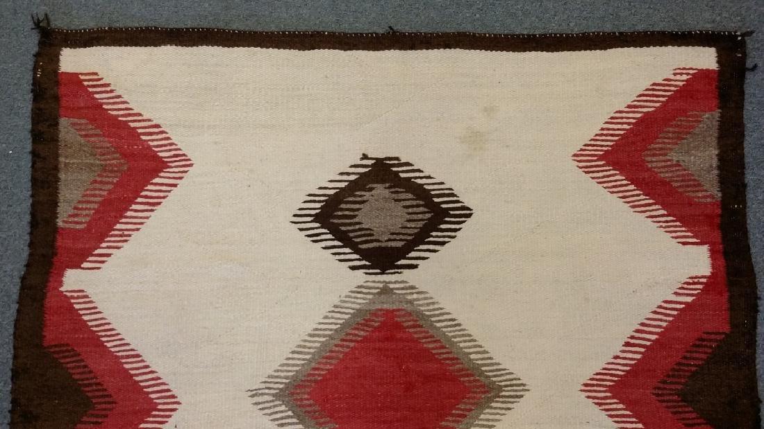 "Navajo rug approx. 43"" x 57 1/2"" - 4"