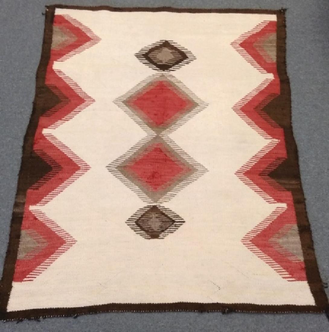 "Navajo rug approx. 43"" x 57 1/2"" - 7"