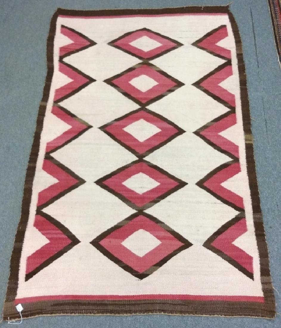 "Navajo rug approx. 41"" x 67 1/2"""