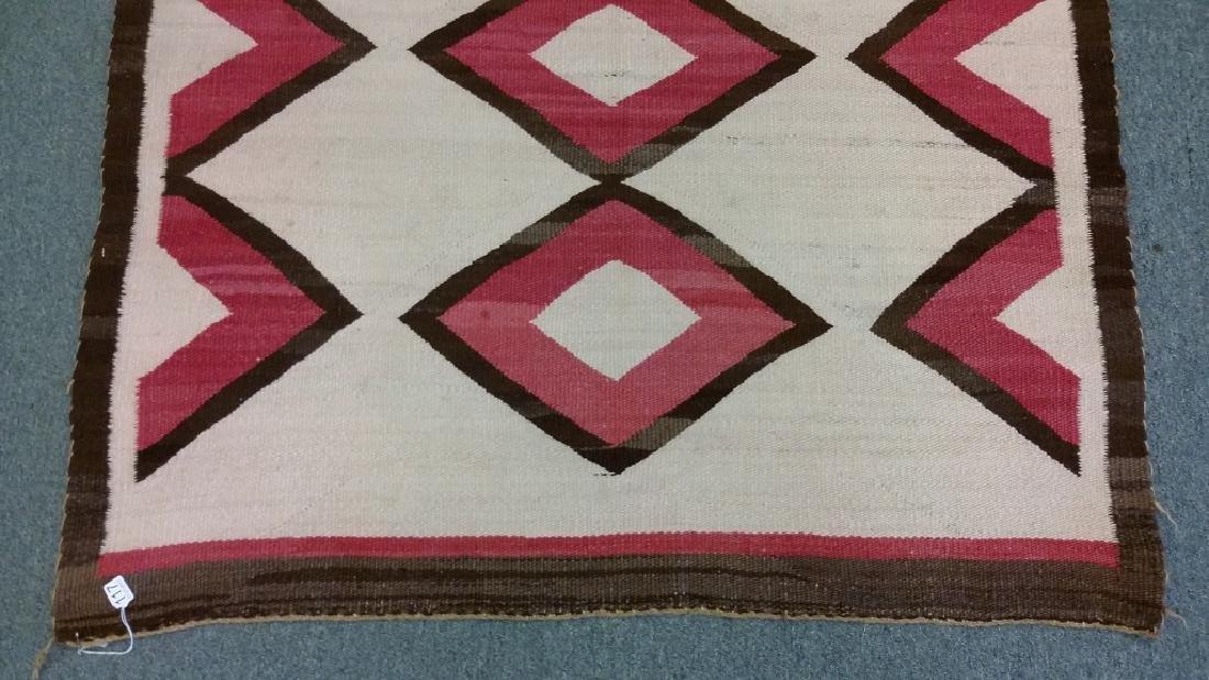 "Navajo rug approx. 41"" x 67 1/2"" - 2"