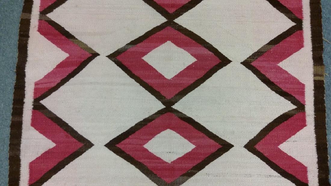 "Navajo rug approx. 41"" x 67 1/2"" - 3"