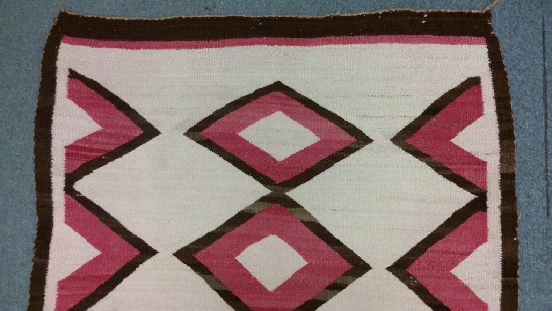 "Navajo rug approx. 41"" x 67 1/2"" - 4"