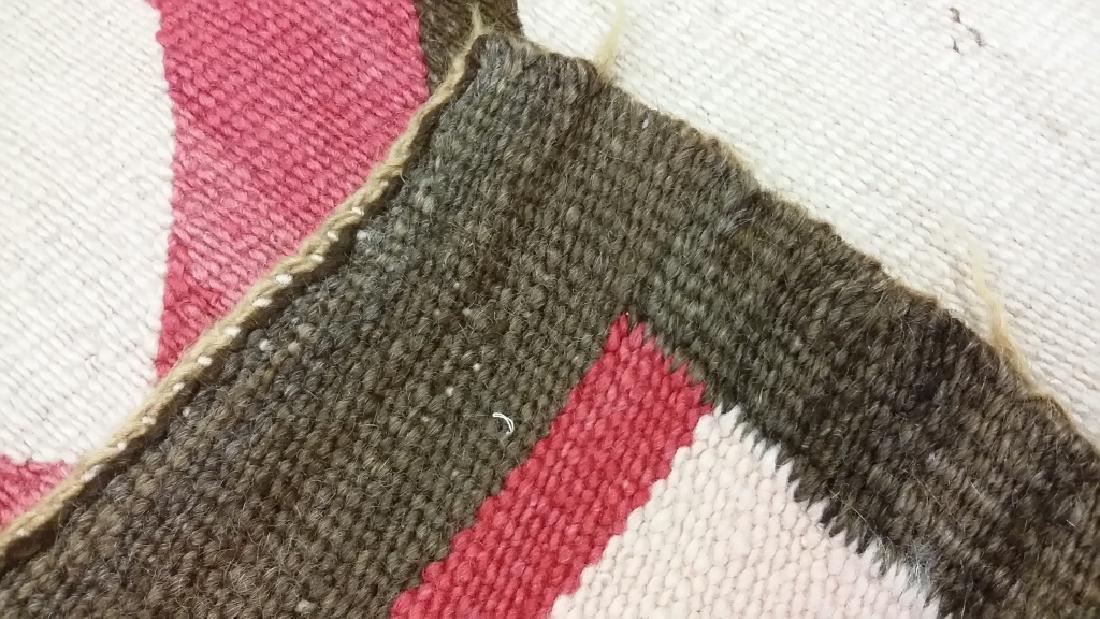 "Navajo rug approx. 41"" x 67 1/2"" - 5"