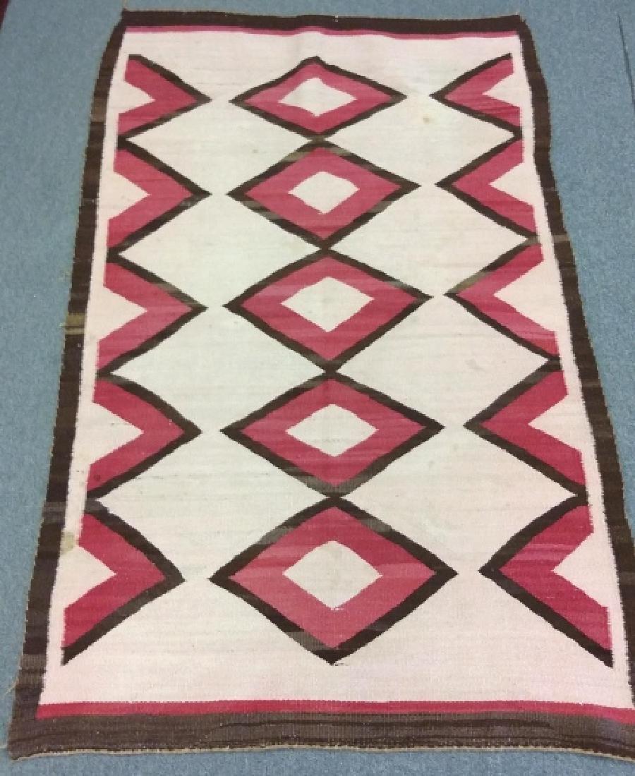 "Navajo rug approx. 41"" x 67 1/2"" - 6"