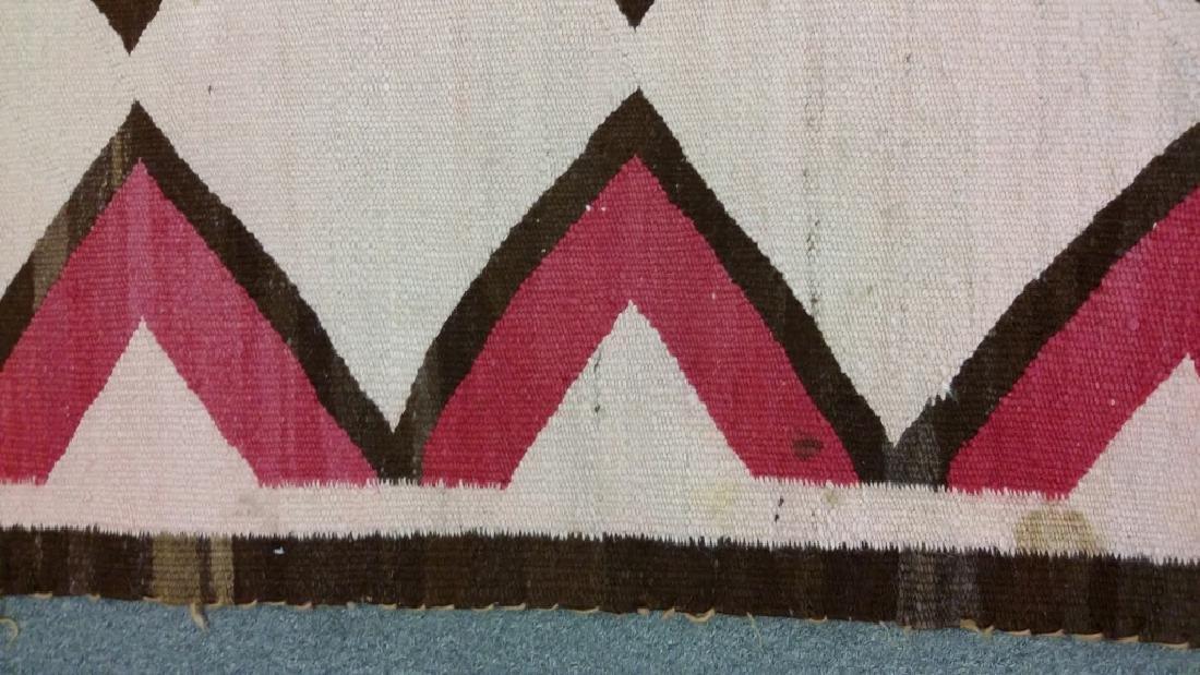 "Navajo rug approx. 41"" x 67 1/2"" - 7"