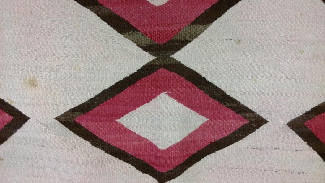"Navajo rug approx. 41"" x 67 1/2"" - 8"