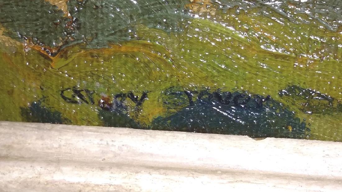 Framed signed (not fully legible) - impressionist - 5