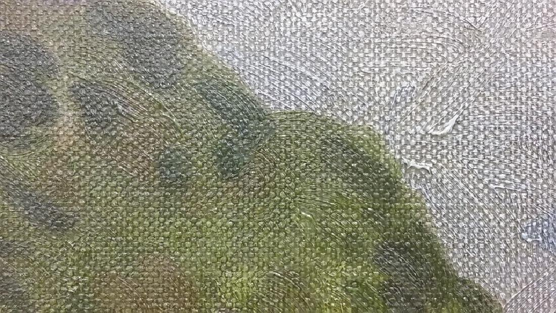 Framed signed (not fully legible) - impressionist - 6