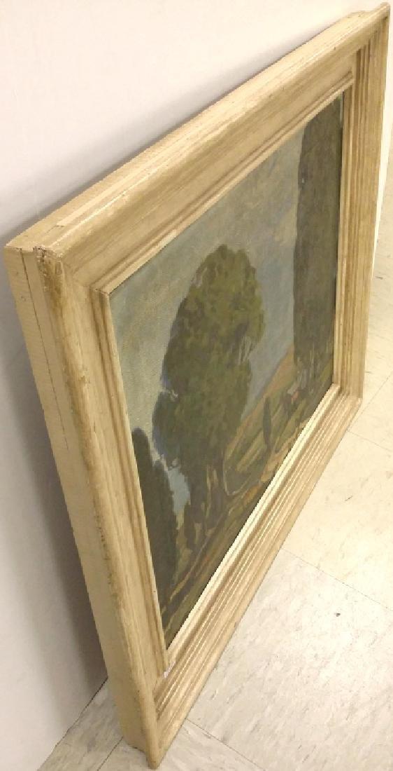 Framed signed (not fully legible) - impressionist - 8