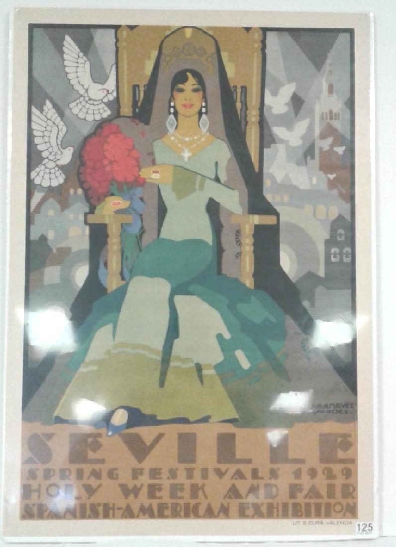 1929 Spanish American Exhibition Seville Art Deco