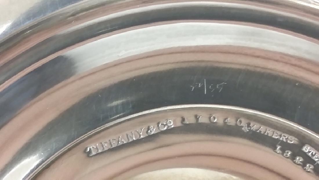 Pair of Tiffany & Company silver trumpet vases, New - 10