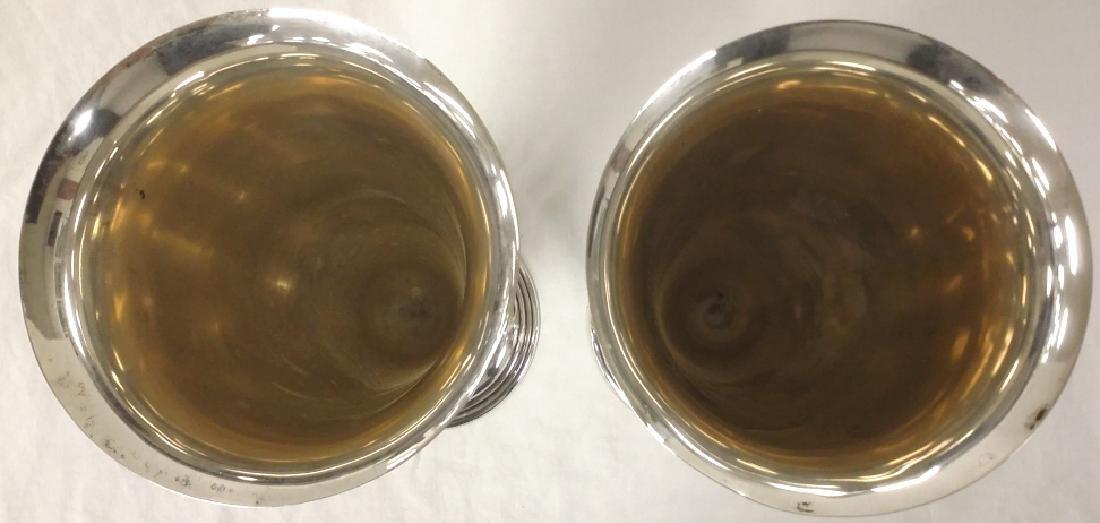 Pair of Tiffany & Company silver trumpet vases, New - 3
