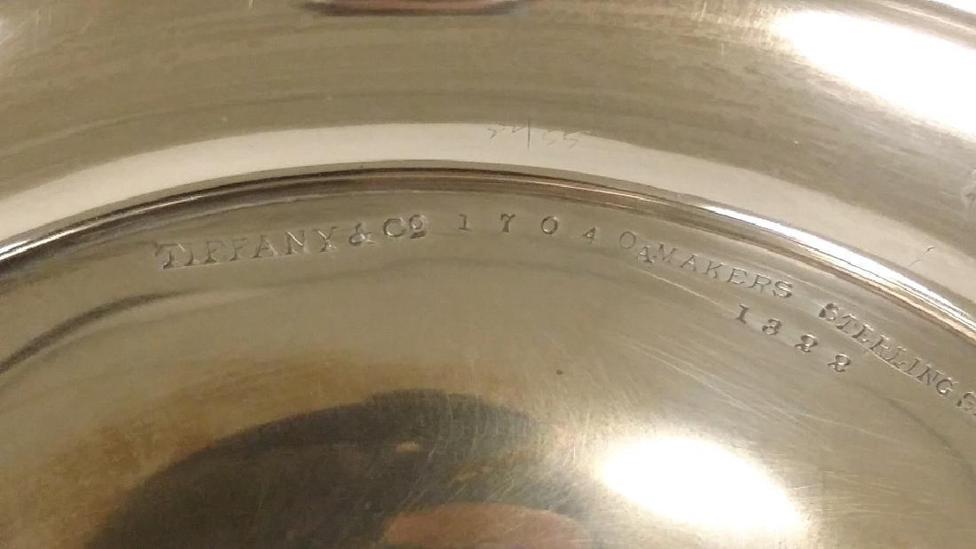 Pair of Tiffany & Company silver trumpet vases, New - 6