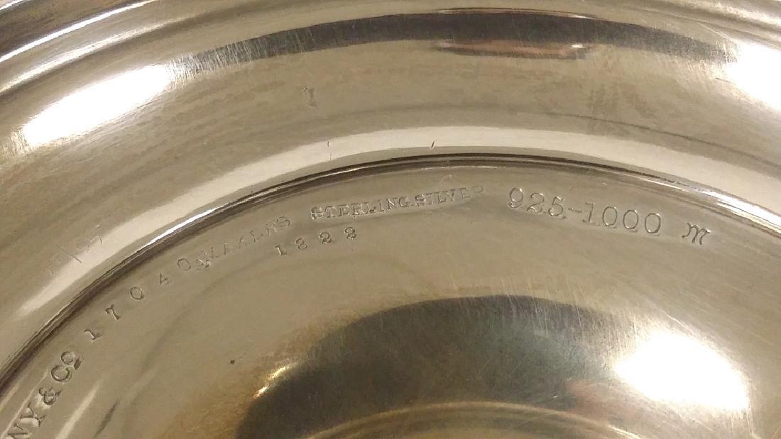 Pair of Tiffany & Company silver trumpet vases, New - 7