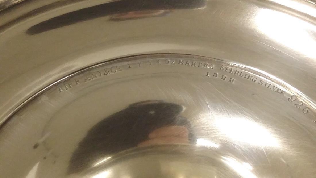 Pair of Tiffany & Company silver trumpet vases, New - 8